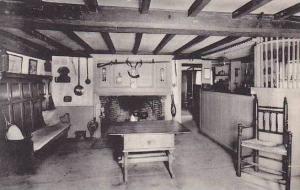 Massachusetts South Sudbury Longfellows Wayside Inn The Old Bar Room Albertype