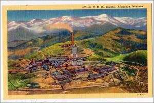 A.C.M.Co. Smelter Anaconda MT