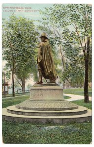 Springfield, Mass, Deacon Chapin Monument