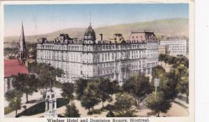 Exterior, Windsor Hotel and Dominion Square, Montreal,Canada,00-10s