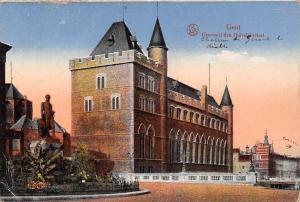 Belgium Gent Geeraard den Duivel Kasteel Statue Castle Chateau