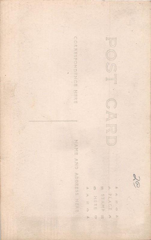 D85/ Foreign Postcard Tijuana Nogales? Mexico RPPC c1920s Tourist Hat Cane