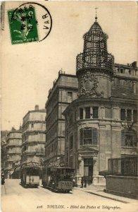 CPA TOULON Hotel des Postes et Telegraphes (394236)