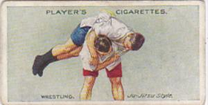 Cigarette Card Player and Sons Wrestling & Ju-Jitsu 1913 No 25 Japanese Cross...