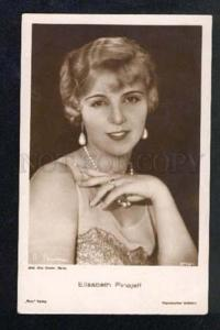 025553 Elisa PINAJEFF Famous German Movie Star. Old photo