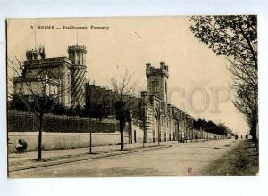 131616 FRANCE REIMS Etablissement Pommery OLD RPPC to RUSSIA