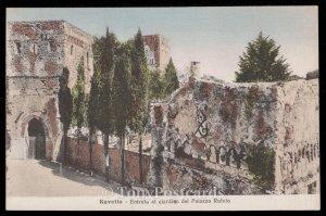 Ravello - Entrata al giardino del Palazzo Rufolo