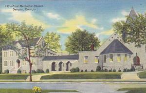 First Methodist Church, Decatur, Georgia, 1930-1950s
