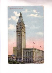 Metropolitan Life Building,  New York City, Used 1909