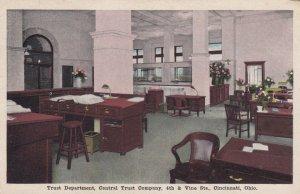 CINCINNATI , Ohio , 00-10s ; Trust Department, Central Trust Company