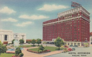 DALLAS, Texas, 1930-40s ;  Hotel Jefferson