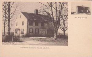 Connecticut Lebanon Jonathan Trumbull House