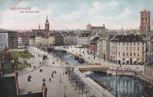 Kobenhavn, Ved Holmens Bro. Denmark , 1910s