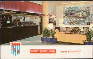 Massachusetts BOSTON Interior - Copley Square Hotel Huntington Avenue - Chrome