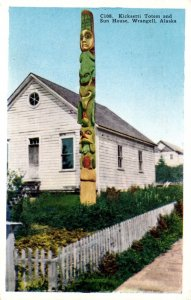 Alaska Wrangell Kicksetti Totem and Sun House 1946