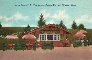 Alpa Chalet at the Alpine Cheese Factory,Wilmot,OH
