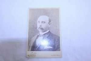 Vintage Cabinet Card Middle Aged Man by Lofft, Lapeer, MI