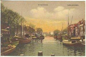 pc795 postcard Willemskade Leeuwarden Netherlands