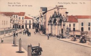 The Old Arcade At The Quay, Ponta-Delgada, Azores, Portugal, 1900-1910s