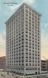 CHICAGO, Illinois, 1900-10s ; Republic Building