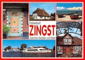 Ostseebad Zingst Zwischen Bodden und Meer Schiff Strand, Beach Boats