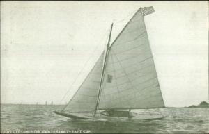 Yacht Racing Taft Cup American Contestant Winner Joyette c1910 Postcard