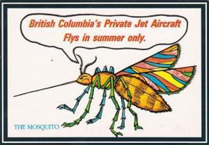 Canada Humour British Columbia's Private Jet Aircraft The Mosquito