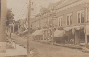 RP; MACHIAS , Maine , 1900-10s ; Main Street