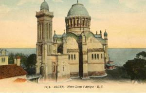 Africa - Algeria, Algiers. Notre Dame of Africa