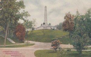 SPRINGFIELD , Illinois , 00-10s , Abraham Lincoln Monument, Oakridge Cemetery