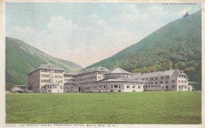 WHITE MOUNTAINS, New Hampshire, PU-1910; The Profile House, Franconia Notch