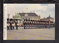 The Royal Guard,Copenhagen,Denmark Postcard BIN