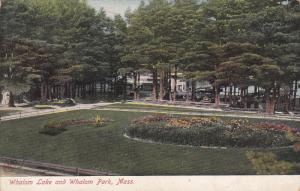 Whalom Lake And Whalom Park, Massachusetts, PU-1908
