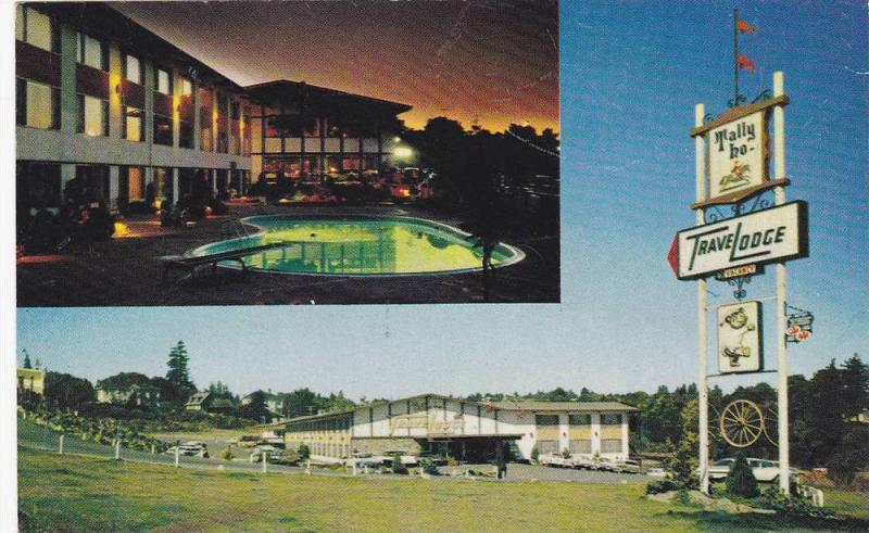 2-Views, Tally-Ho Travelodge, Nanaimo, British Columbia, Canada, 40-60s