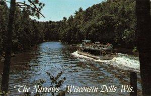 Postcard Entering the Narrows Wisconsin Dells