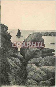 Old Postcard TREGASTEL (North Cotes)