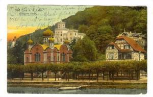 Bad Ems a. d. Lahn, Germany, PU-1911: Russische Kirche