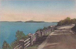 Maine Bar Harbor Bay Drive Albertype