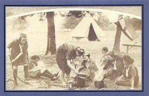 Girl Guides 1922 founded 1910 by Sir Robert Baden-Powell, Nostalgia Reprint