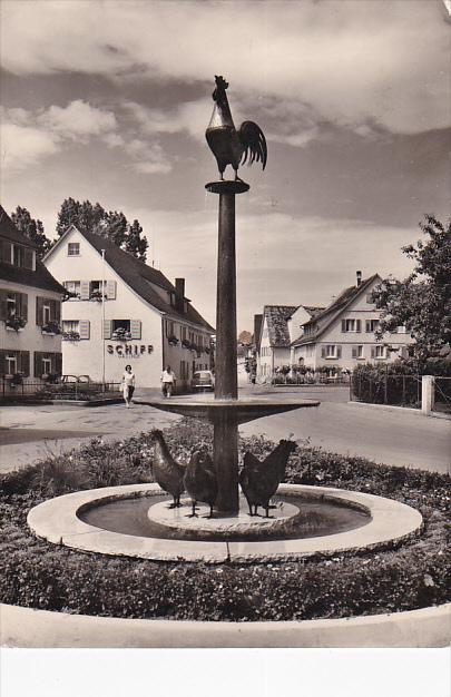RP; Gasthof, Pension Schiff, Immenstaad am Bodensee, Germany,  20-30s