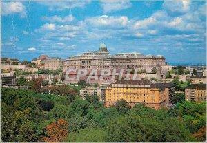 Modern Postcard Budapest Buda Castle
