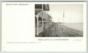 Woolleyville Connecticut~Clinton Beach Cottages~Porches~Park Memories~c1905