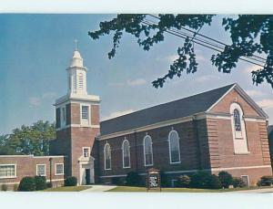 Unused Pre-1980 CHURCH SCENE Milford Delaware DE L2898@