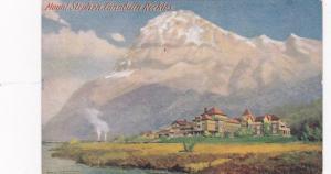 British Columbia, Canada. Mount Stephen & Lodge , 00-10s