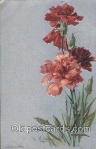 Artist Signed Catherine Klein 1907 light corner wear, light tab marks from be...