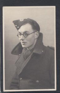 Military Postcard - Real Photo of a Military Serviceman  HP122