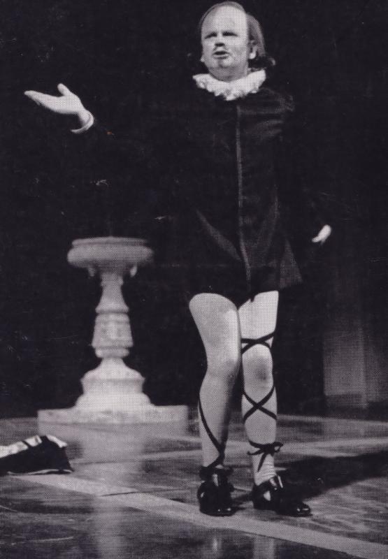 Ian Holm as Malvolio Royal Shakespeare Company Theatre Postcard
