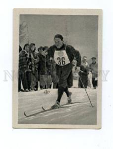 166994 Olympic HALLGEIR BRENDEN Norwey skier CIGARETTE card