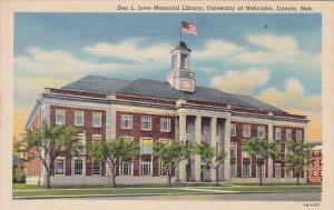 Don L Love Memorial Library University Of Nebraska Lincoln Nebraska