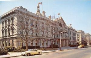 Trenton New Jersey~Mercer County~State Capitol~NICE 1957 Oldsmobile